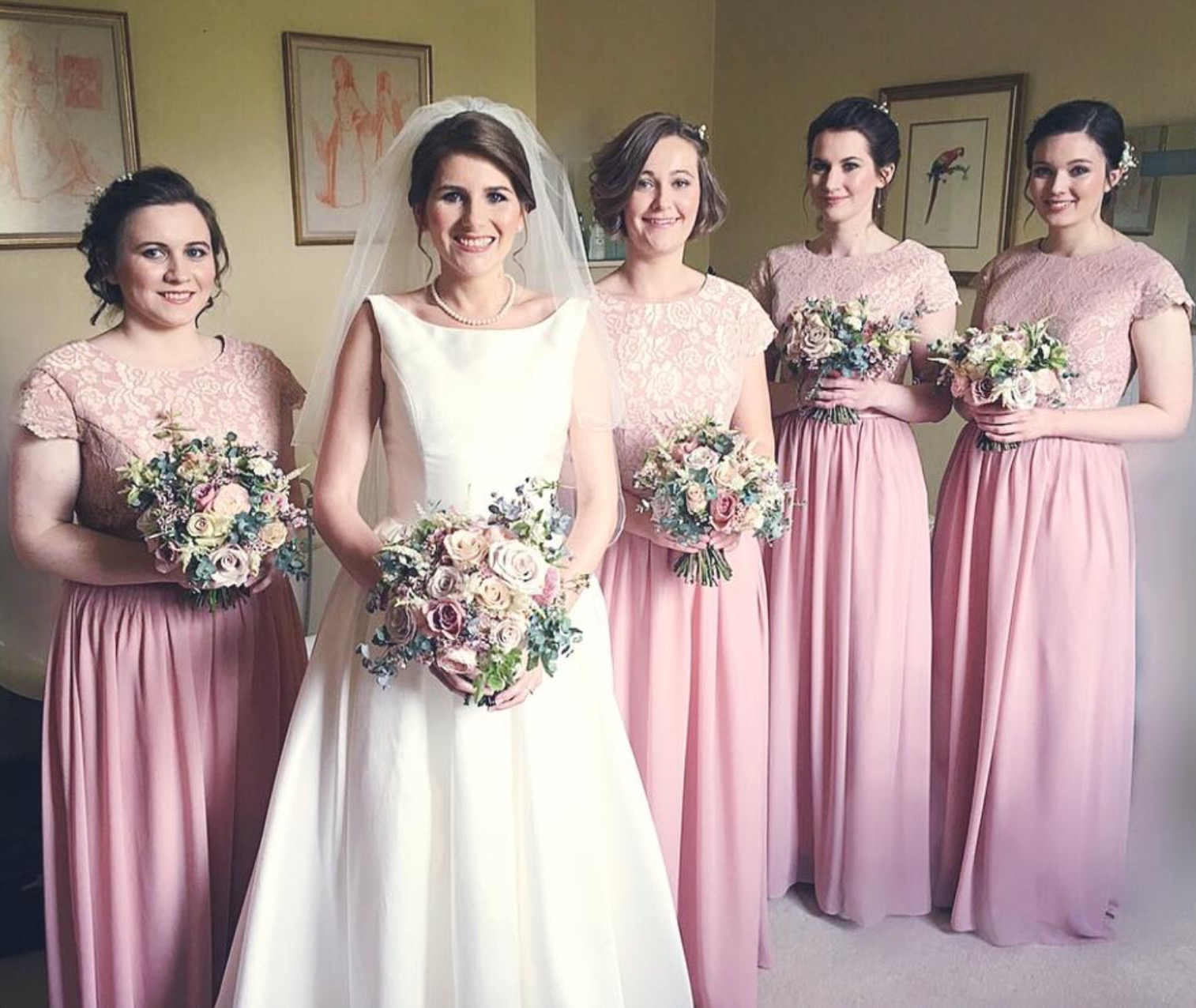Shade Bridal - Lizzie's Real Wedding