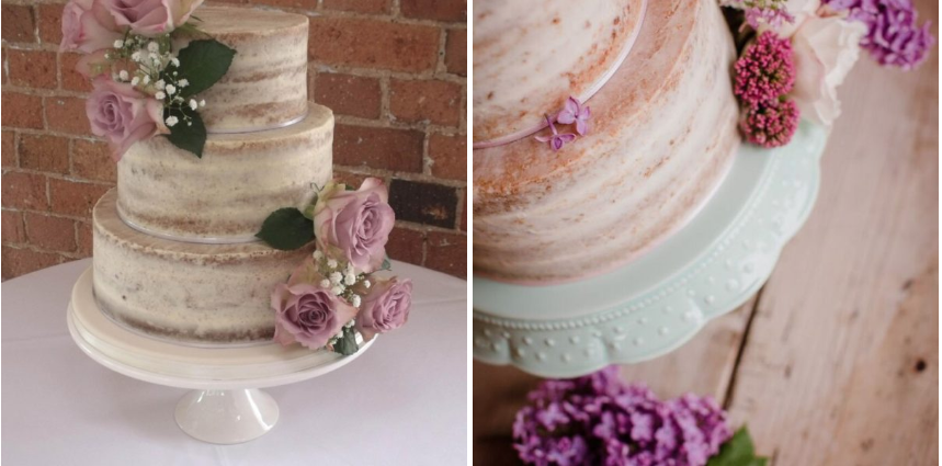 wedding cakes in Leicester by Helen Alborn