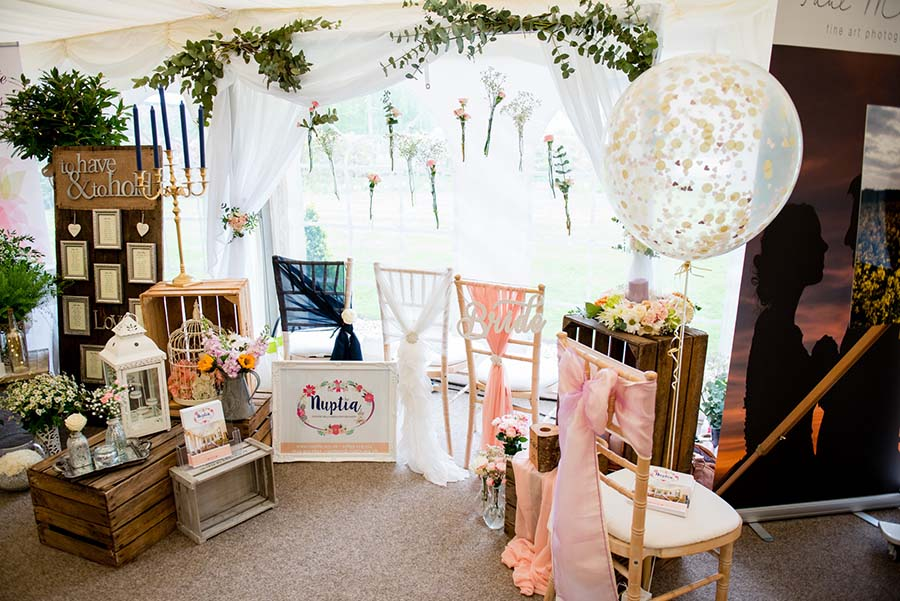 Walled Garden Spring Wedding Fair photographed by Geoff Kirby Photography (1)