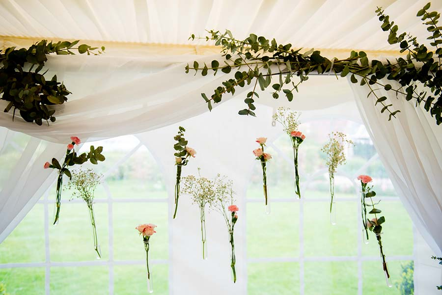 Walled Garden Spring Wedding Fair photographed by Geoff Kirby Photography