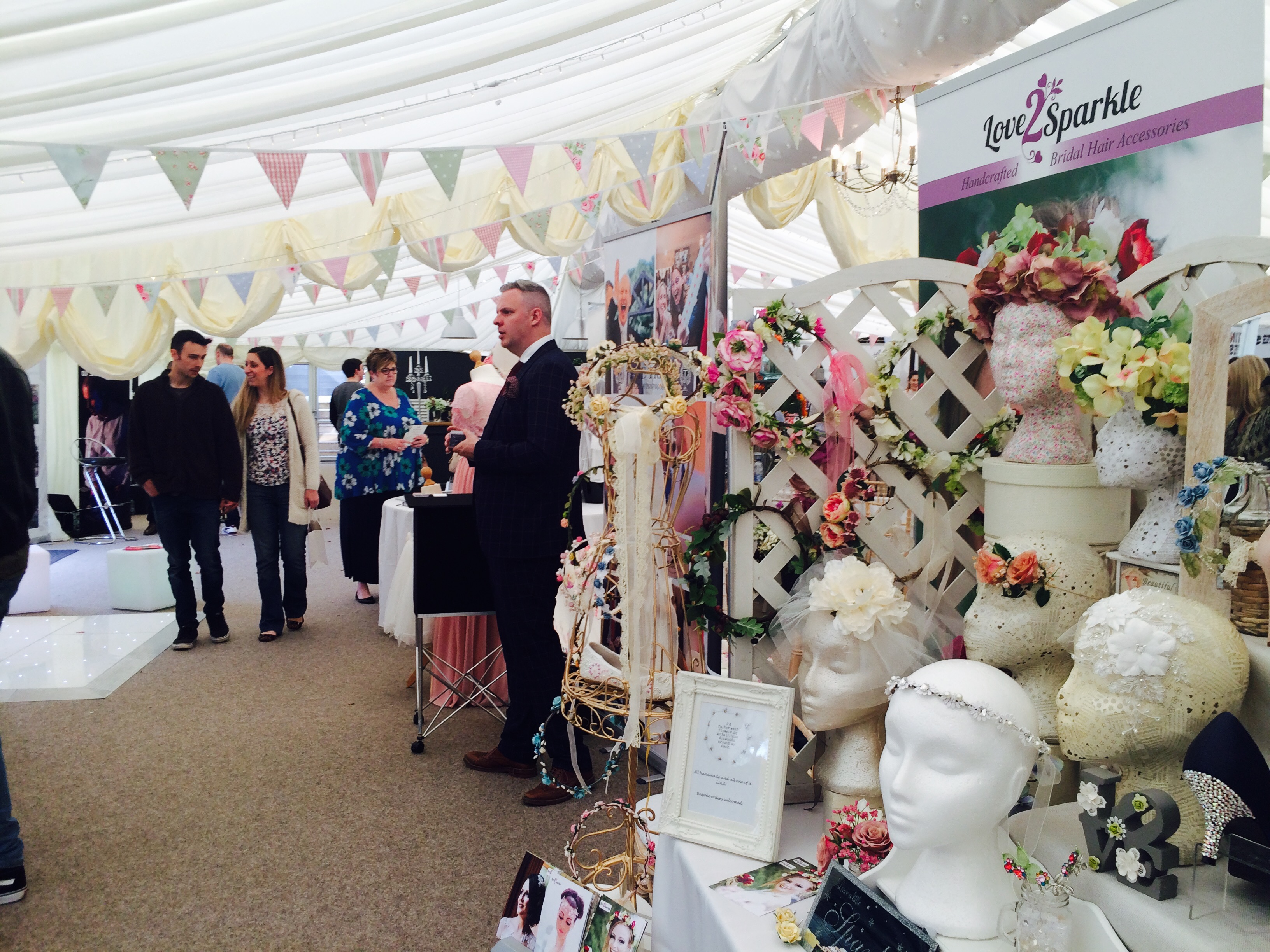 The Walled Garden At Beeston Fields Wedding Fair