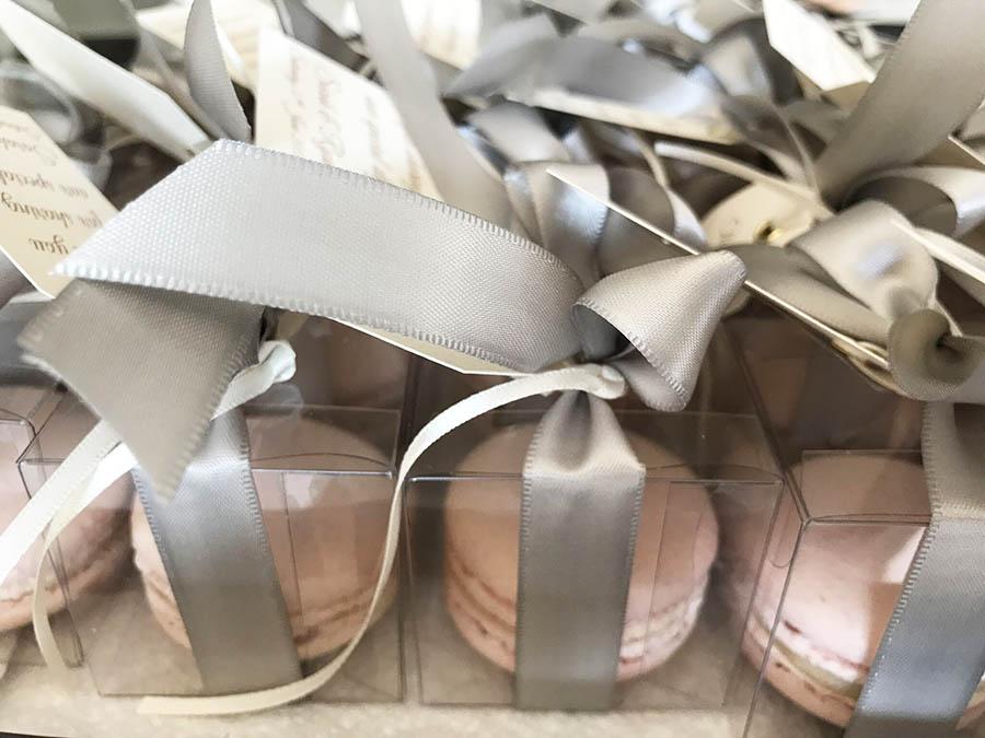 Maison Des Macarons - Rhubarb Gin Wedding Favours