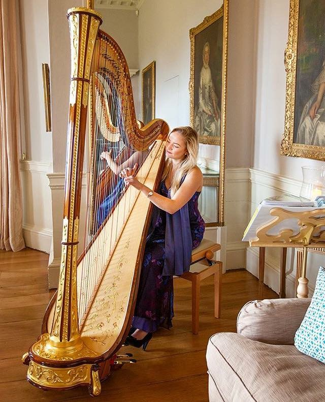 Soraya Vermeulen, Wedding Harpist In Leicestershire And The East Midlands