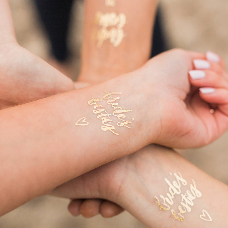 Original_bride-s-besties-hen-party-gold-temporary-tattoos