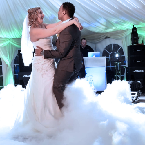 Dry Ice Special Offer For Your First Dance