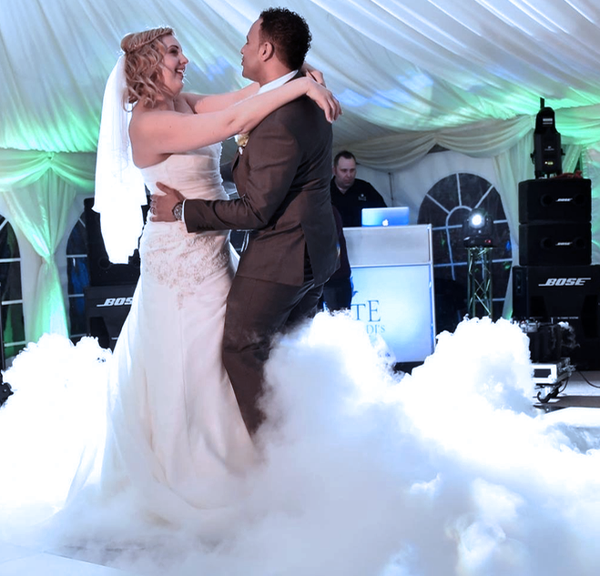 Free Dry Ice For Your First Dance
