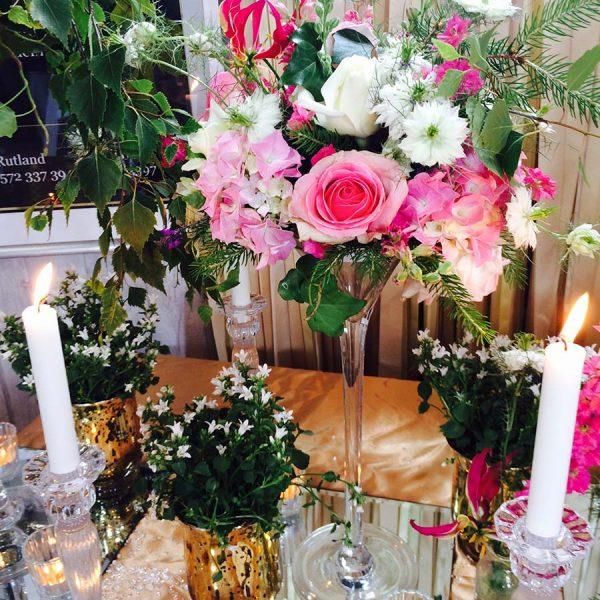Wedding Fair Flowers By Hiden Floral Design