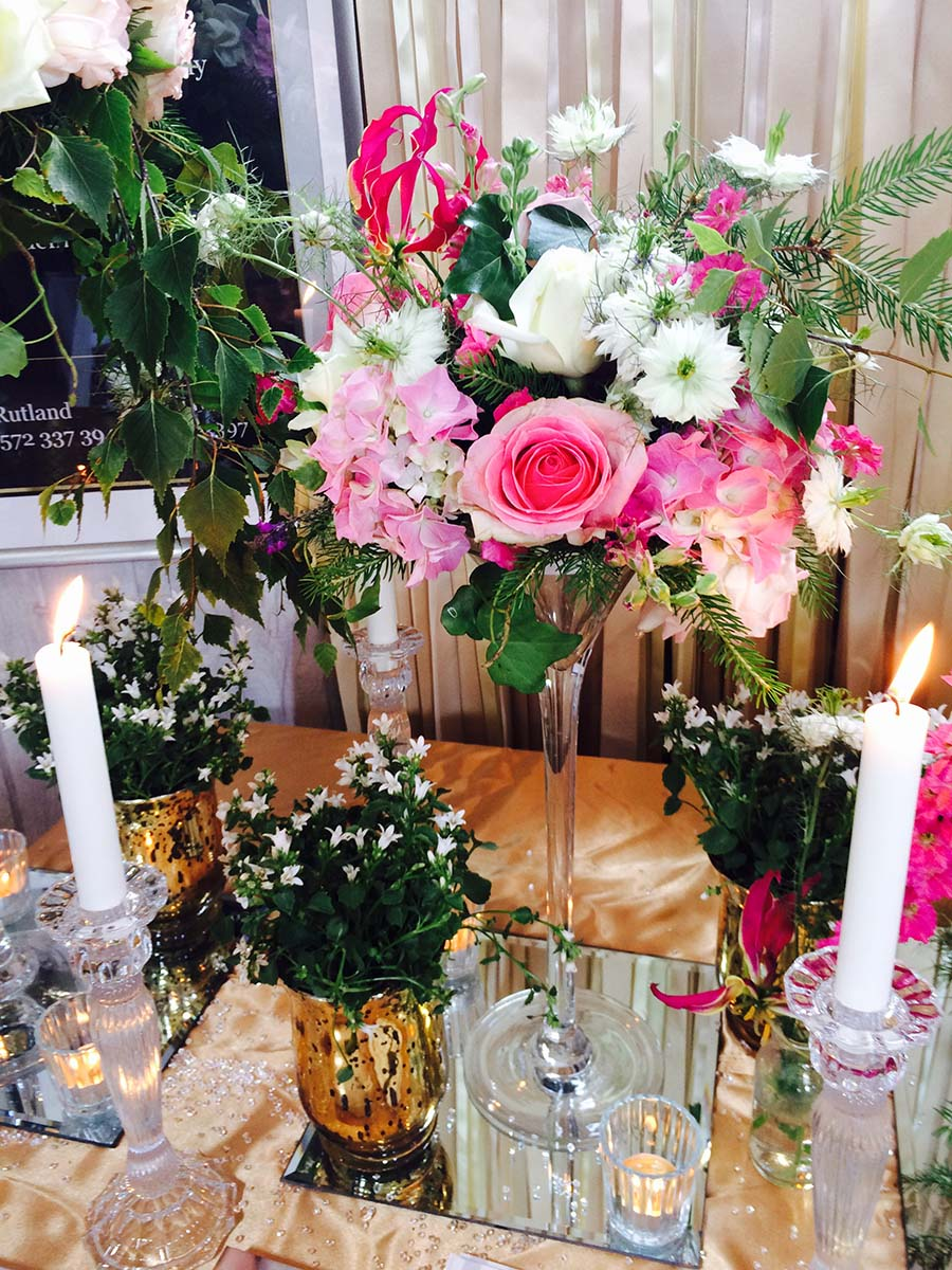 Wedding Fair Flowers By Hiden Floral Design