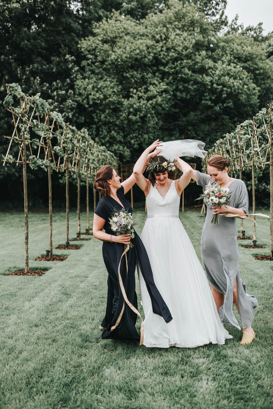 Real Wedding, Bride, Bridesmaids