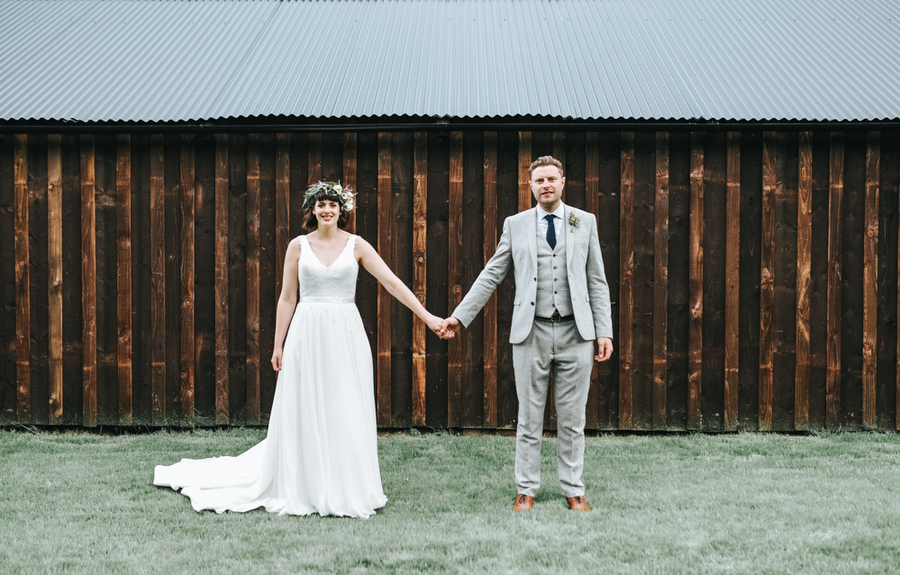 Real Wedding, Bride, Groom