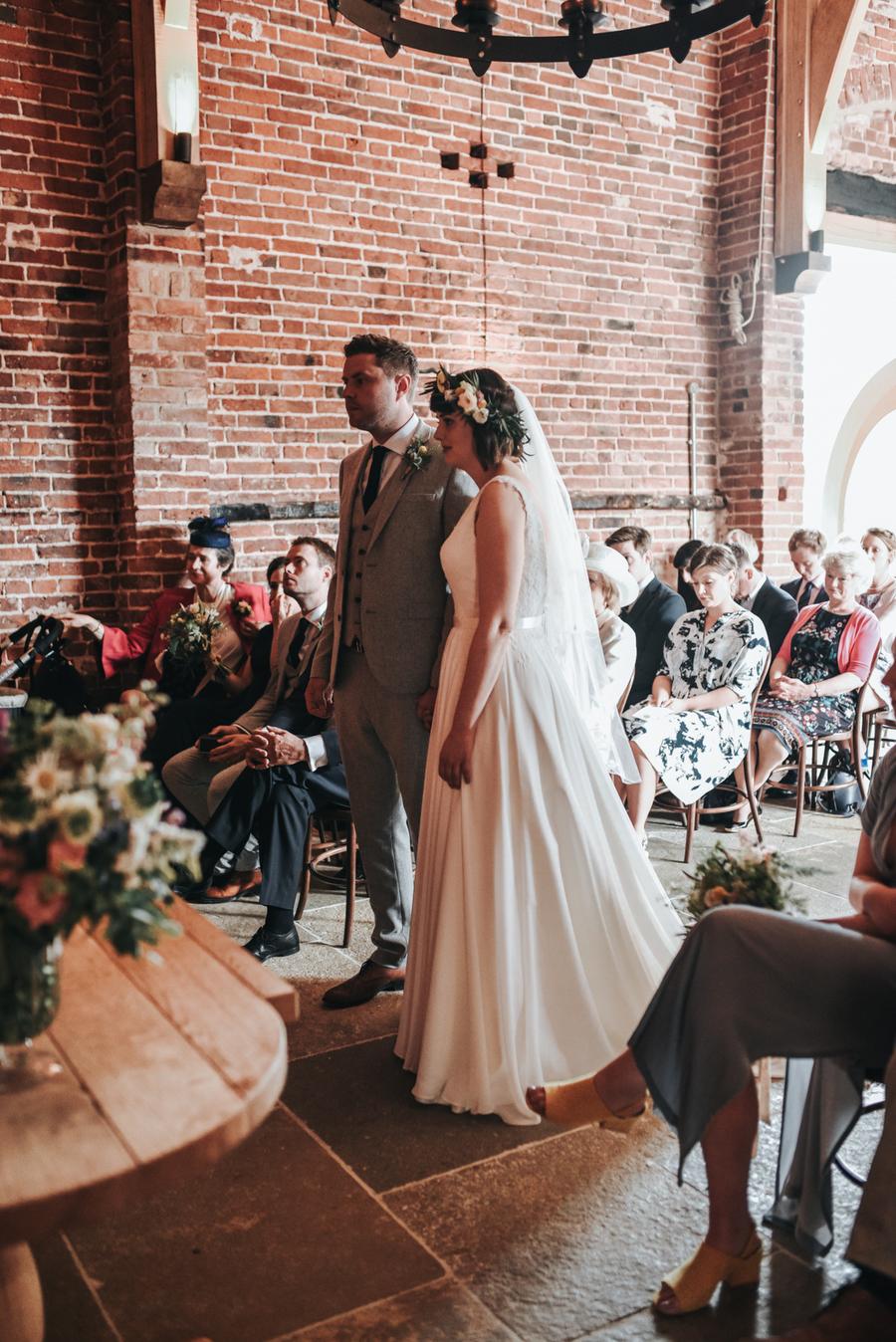 Real Wedding, Bride, Groom, Ceremony