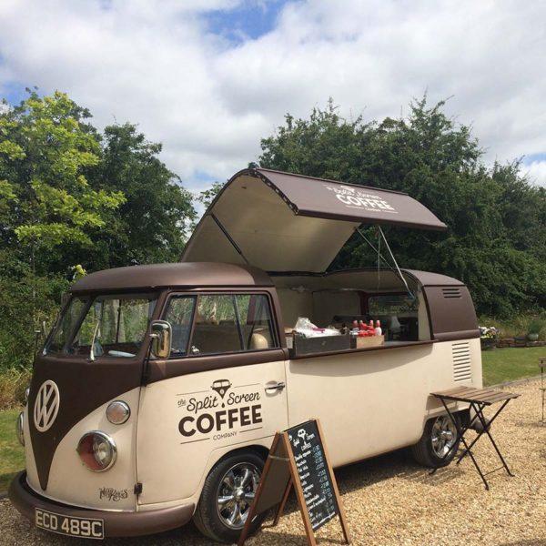 Wedding Coffee Van