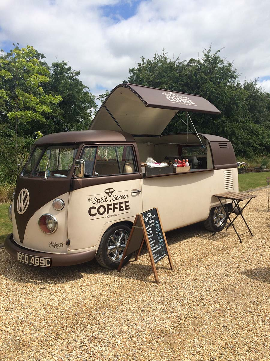 Wedding Coffee Van