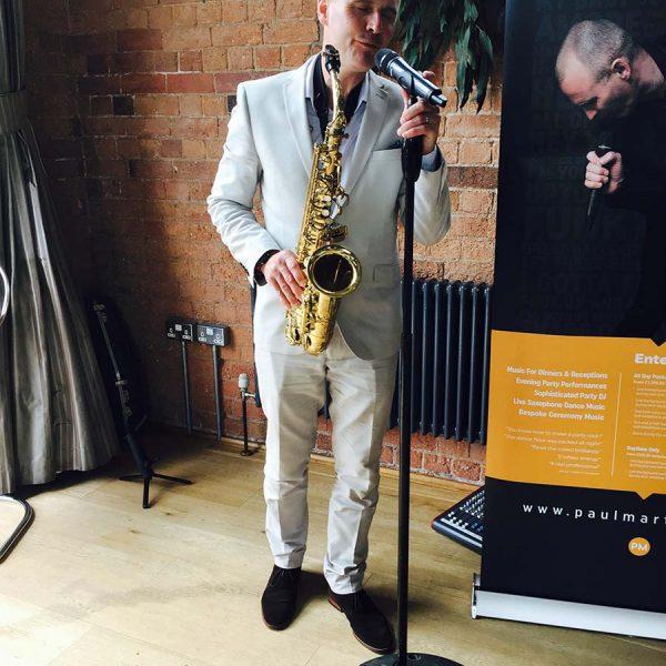 Paul Martyn - DJ, Vocals, Saxophone