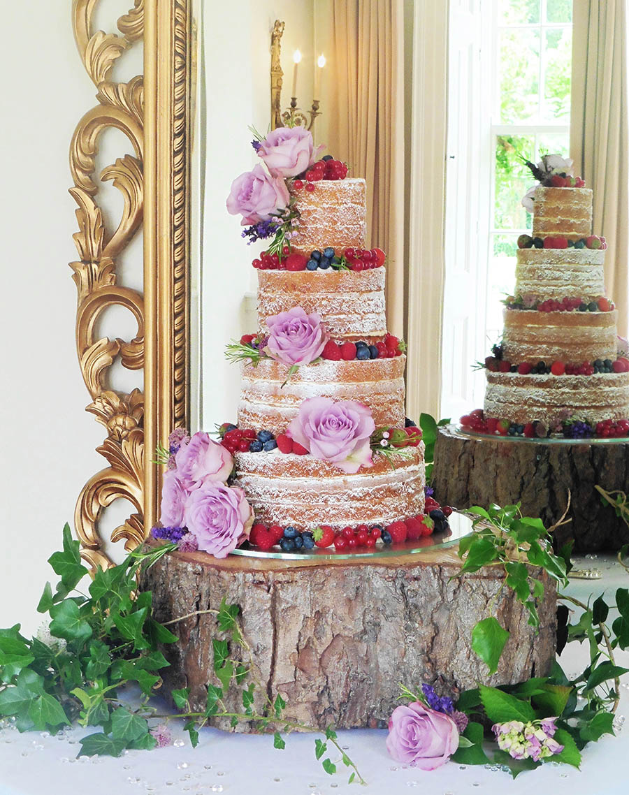 Naked Cakes, Wedding Cakes, Leicestershire, Helen Alborn Cakes