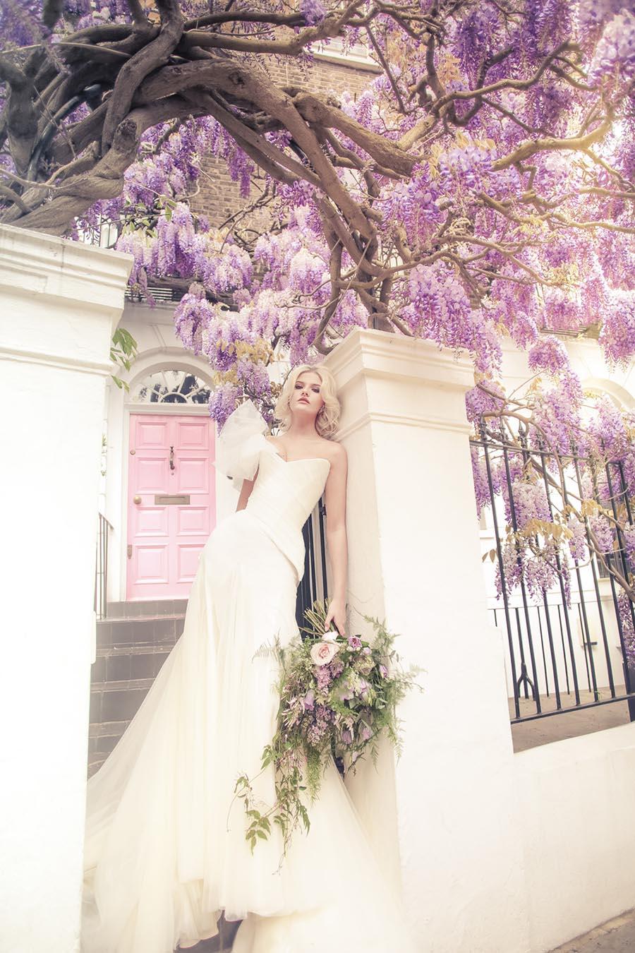 Chantal Mallett, Bridal Couture, 2017 Collection, Wisteria