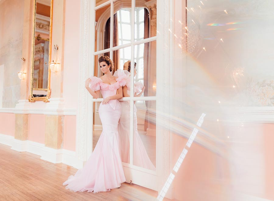 Chantal Mallett 20th Anniversary Bridal Couture, Corseted Wedding Dresses, London