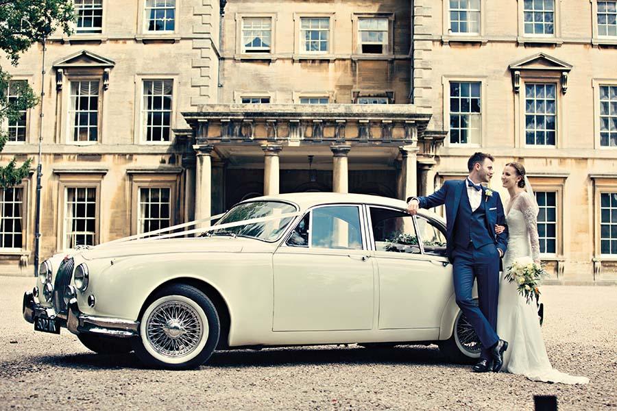 Real Wedding, Prestwold Hall, Bride, Dottie Photography, Wedding Car, Grown