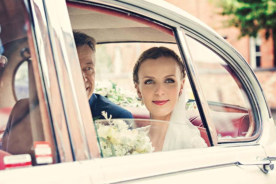 Real Wedding, Bride, Ceremony, Bouquet, Prestwold Hall, Dottie Photography