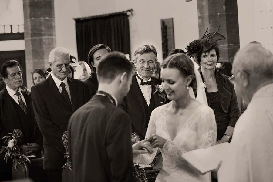 Real Wedding, Prestwold Hall, Bride, Dottie Photography. Groom, Ceremony