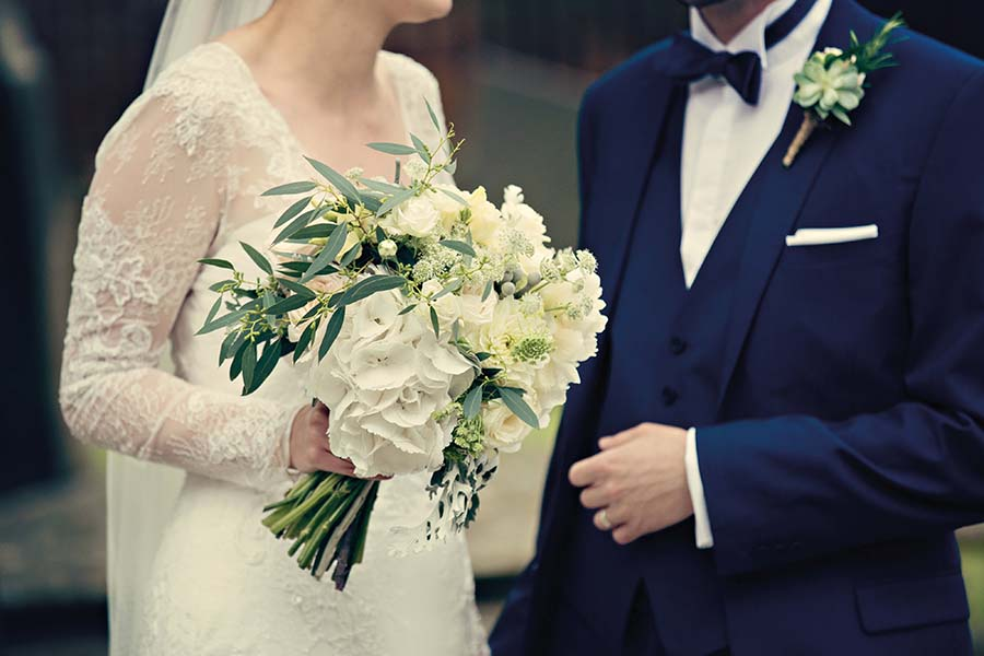Real Wedding, Prestwold Hall, Bride, Dottie Photography, Groom, Bouquet