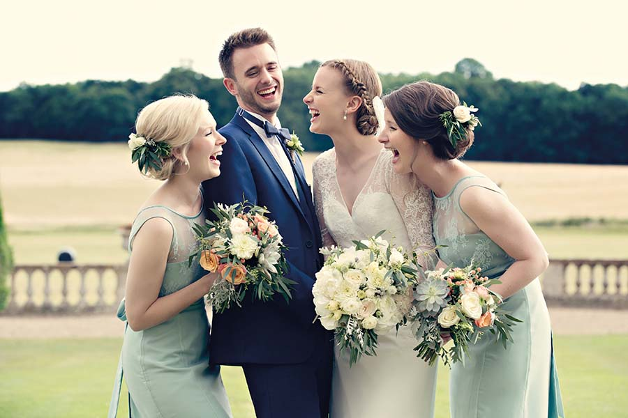 Real Wedding, Prestwold Hall, Bride, Dottie Photography