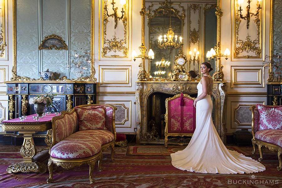 Belvoir Castle Bride – By Buckinghams Creative