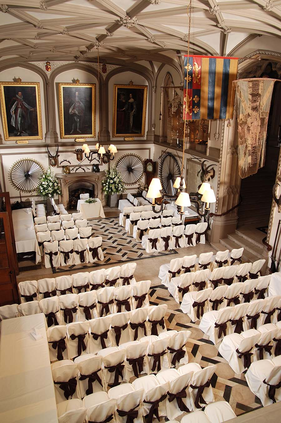 Belvoir Castle, Leicestershire, Wedding