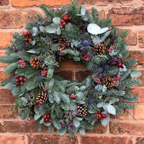 Mrs Umbles' Christmas Wreath Workshop