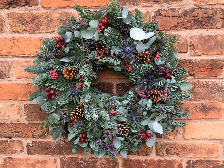 Mrs Umbles' Christmas Wreath Workshop