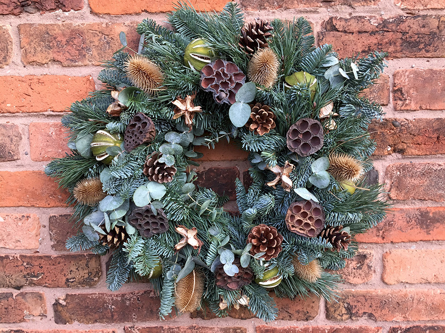 Mrs Umbles, Christmas Wreath Workshop