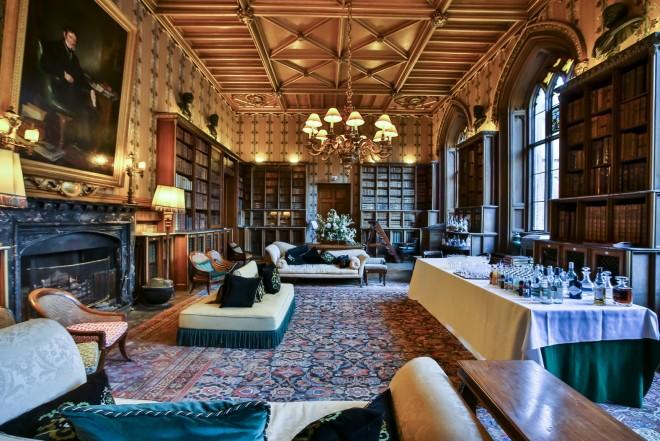 The Duke's Library At Belvoir Castle