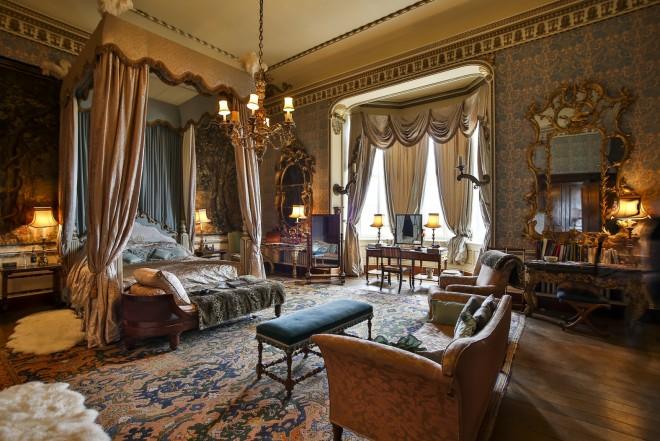 State Bedroom At Belvoir Castle