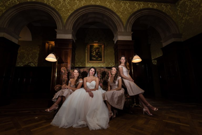 Shade Bridal, Stapleford Park Wedding, Kimberley Hill Photography