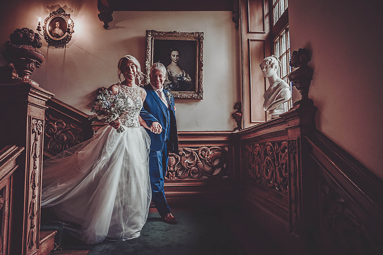 Chris Snowden Photo, Real Wedding, Thrumpton Halll
