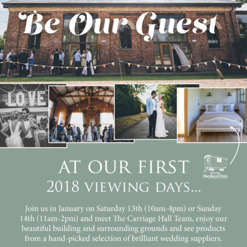 The Carriage Hall Open Day