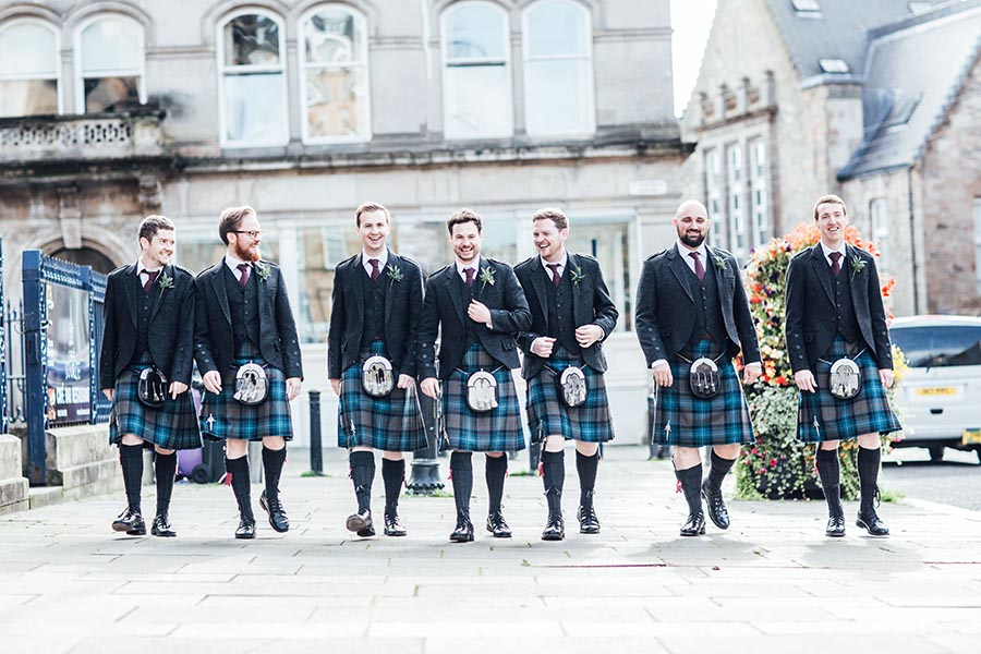 Christina & Paul Real Wedding Scotland