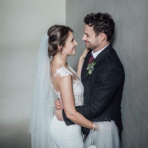 Christina & Paul's Real Wedding | Scotland
