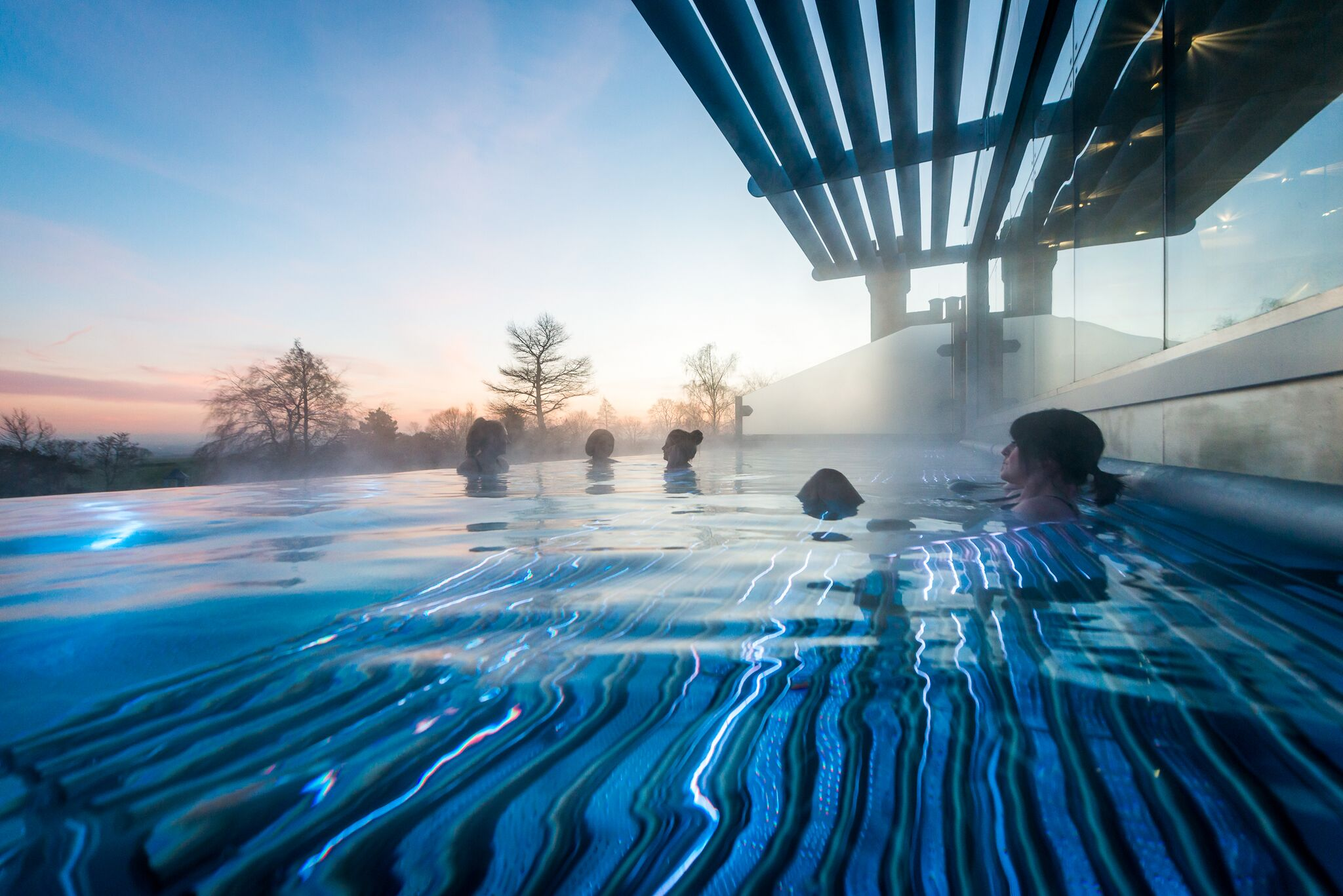 Ragdale Hall Spa Infinity Pool