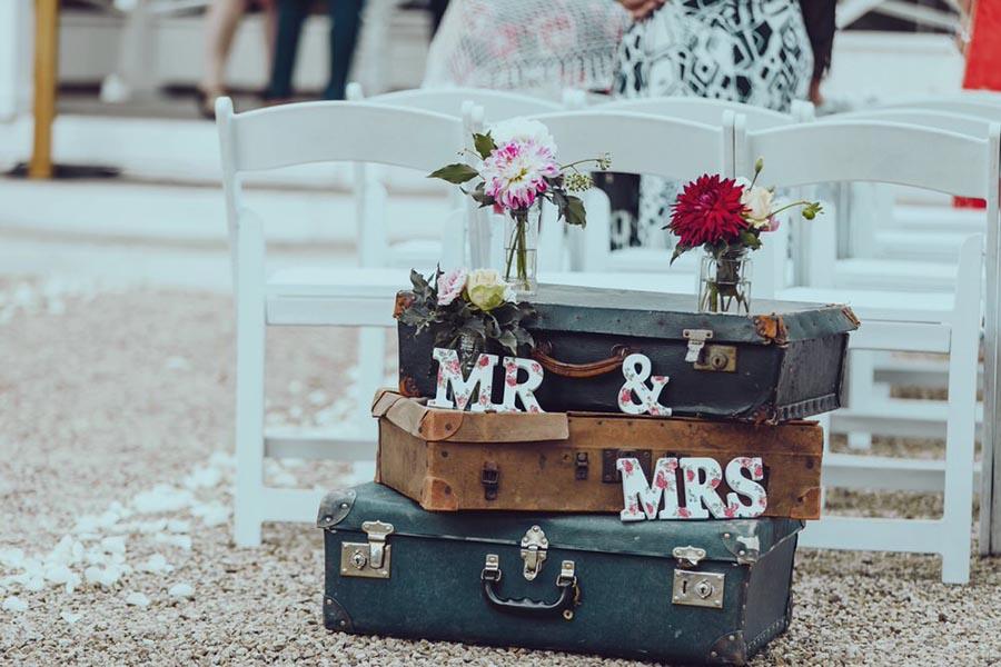 Vanessa & Chris' Real Wedding