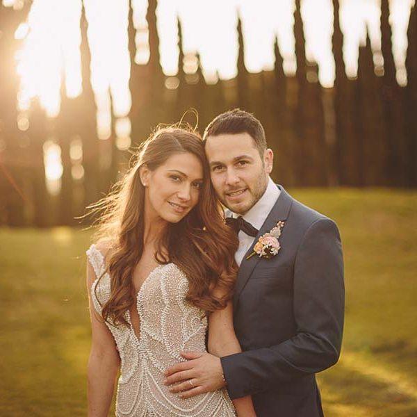 Adriana & Andrew's Real Wedding