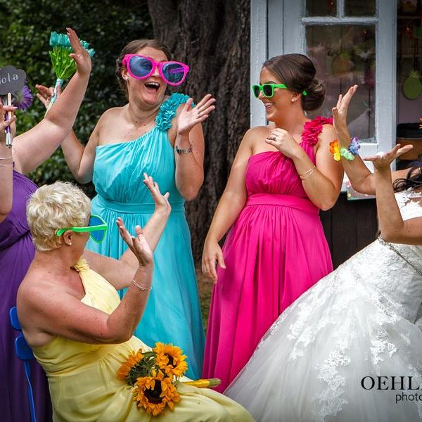 Bridesmaids Having Fun - Oehlers Photography | Nottingham Wedding Photographer