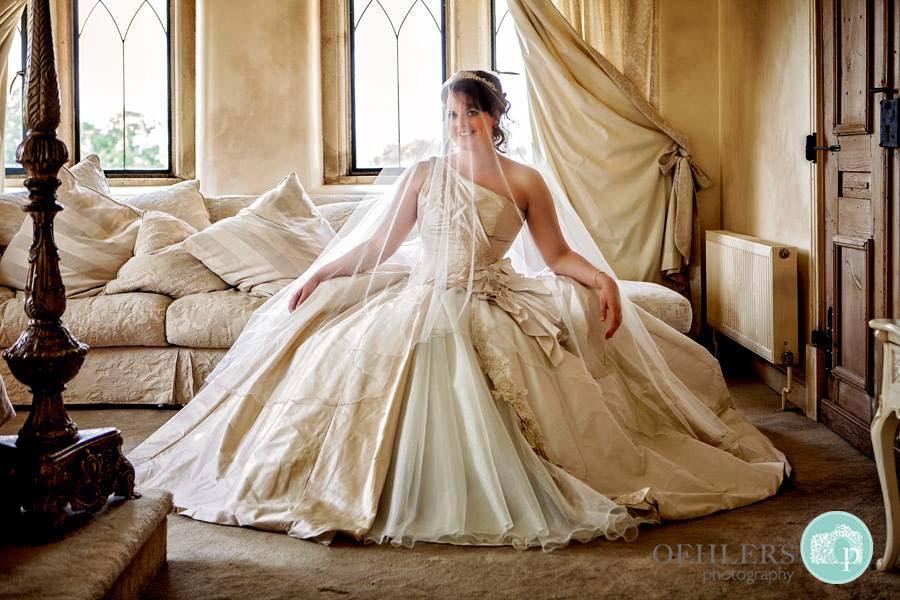 Bride On Her Wedding Day - Oehlers Photography   Nottingham Wedding Photographer