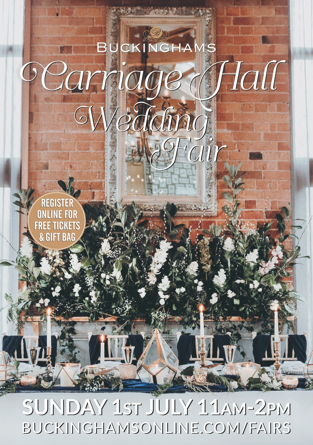 Carriage Hall Summer Wedding Fair