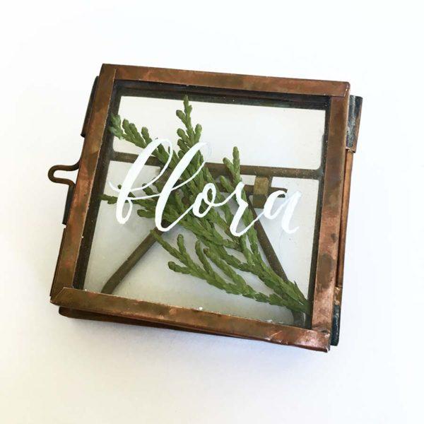 Flora Calligraphy