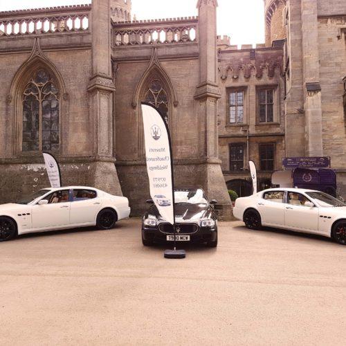 Introducing Maserati Chauffeured Weddings