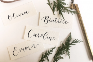 Wedding Place Cards By Millie Stone, Leicestershire