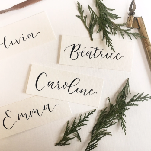 Place Cards Or Palm Trees