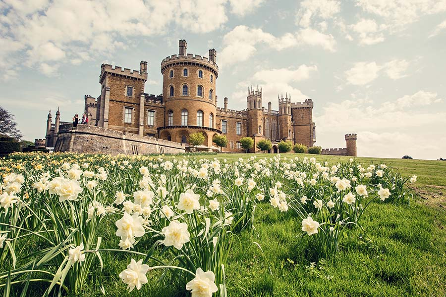 Buckinghams Luxe Wedding Show At Belvoir Castle
