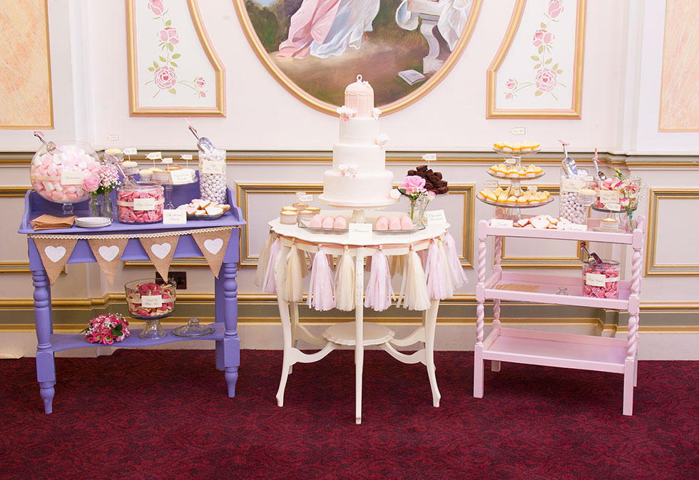 Dessert Table By Cherry Blossom Cakes In Bawtry